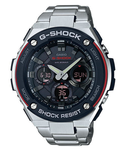 Часы Casio G-Shock G-Steel GST-S100D-1A4 TOUGH SOLAR Б.