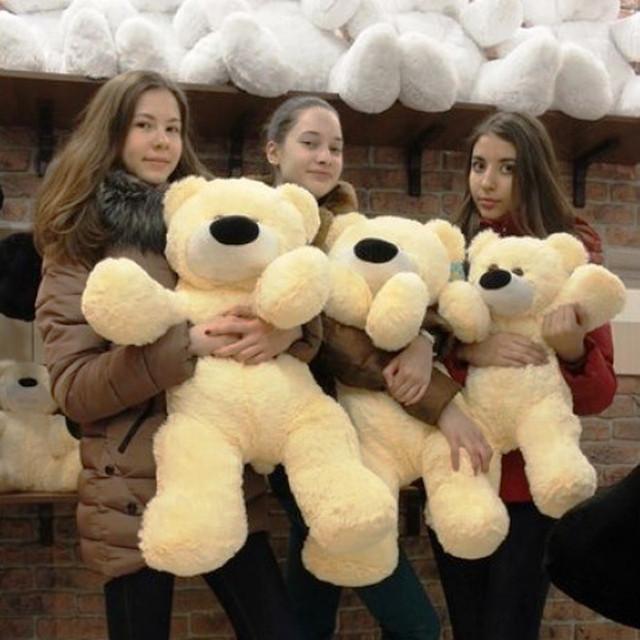 купить большого плюшевого медведя в Киеве
