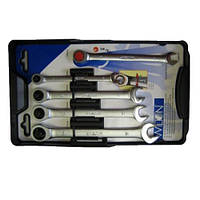 Набор трещеточных комбинированных ключей Wilton 91000.20012