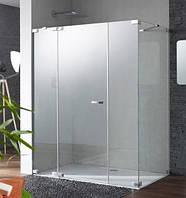 PT0189 Studio Paris elegance Душ кабина 90-120*30-120 см, Н=1,2-2,0 м, профиль хром матовый, стекло прозрачное