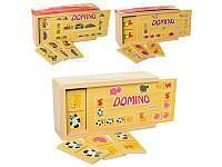 Деревянная игрушка Домино  (MD 1126)