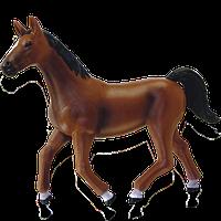 Объемный пазл Темно-коричневая лошадь 4D Master (26482)