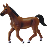 Объемный пазл Темно-коричневая лошадь 4D Master (26482), фото 1