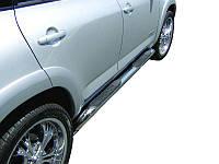Боковые подножки для Toyota RAV-4 (2006 - 2012)