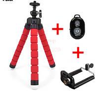 """Универсальный держатель """"Тренога"""" мини гибкий штатив для фотоаппаратов и видеокамер мини-трипод, тренога"""