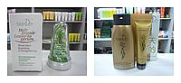 Набор от перхоти с экстрактом женьшеня: шампунь+маска для волос  Тианде(220 гр и 100 гр)и сыворотка для волос