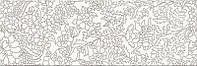 Плитка PRET-A-PORTER WHITE INSERTO FLOWER ДЕКОР