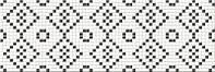 Плитка PRET-A-PORTER BLACK-WHITE MOSAIC ДЕКОР
