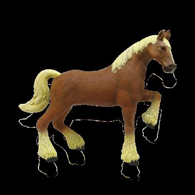 Объемный пазл Лошадь тяжеловоз коричневая 4D Master (26527)