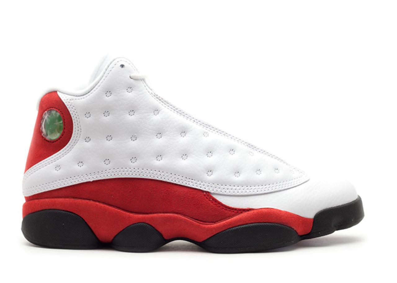 "b8c52a61 Баскетбольные кроссовки Air Jordan 13 Retro OG ""White/Red"". Живое фото ("