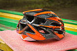 Шлем велосипедный Moon красный, фото 5