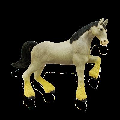 Объемный пазл Лошадь тяжеловоз серая 4D Master (26528)