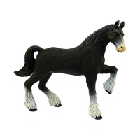 Объемный пазл Лошадь тяжеловоз черная 4D Master (26526), фото 1