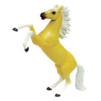Об'ємний пазл Стрибає кремова кінь 4D Master (26525)