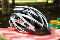 Шлем велосипедный Moon белый