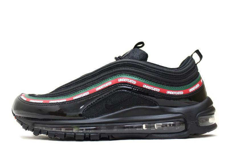 Air Max 97 Black And Red Undefeated