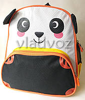 Детский рюкзак для дошкольника панда бело черная