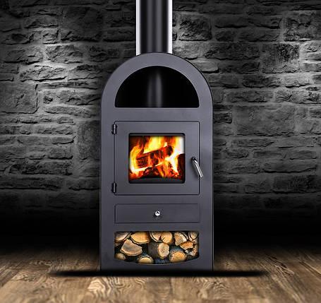 Стальная печь-камин Galant 9 kW, фото 2