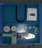 Паяльник для пластиковых труб KRAISSMANN 1500 KMS 6 (с индикатором температуры), фото 3