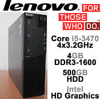 Lenovo M82 SFF - Intel Core i5-3470 4x3.2GHz /4GB DDR3 /500GB HDD