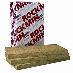 Мінеральна вата Rockwool Rockmin Plus Роквул Рокмін Плюс