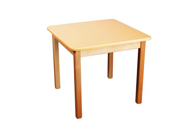 Детский деревянный стол, ваниль