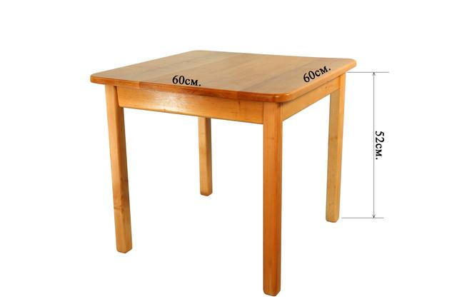 Детский деревянный стол