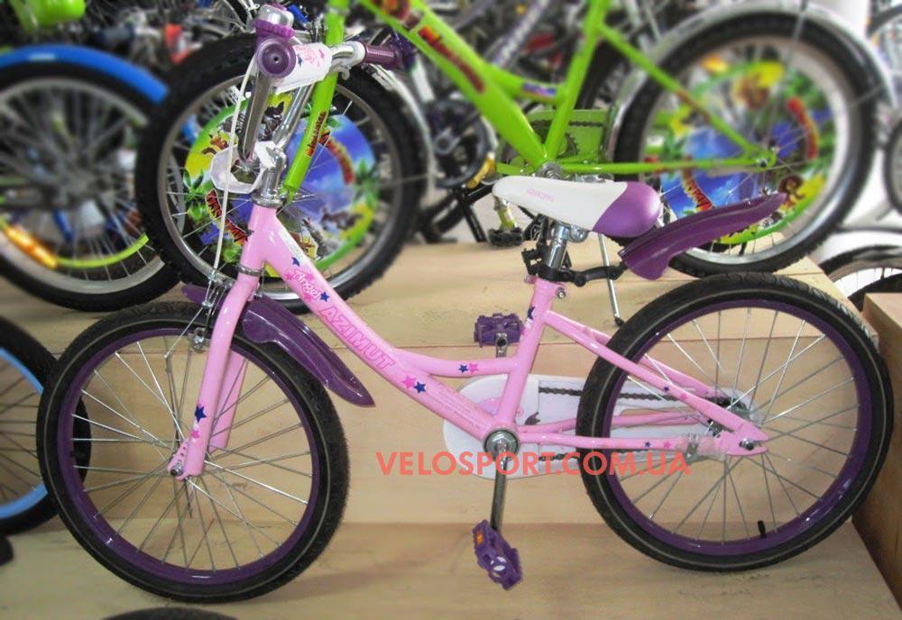 Детский велосипед Azimut Angel 20 дюймов