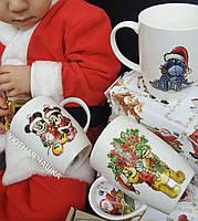 Детские фарфоровые чашки с изображением любимых мульт.героев 45