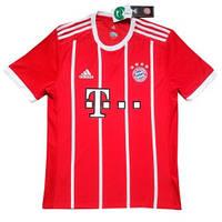Игровая футболка Adidas Бавария Мюнхен сезон 2017-2018 (реплика VIP качества,красная)