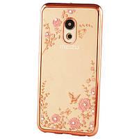 Чехол Luxury для Meizu M6 Ультратонкий Бампер Rose Gold