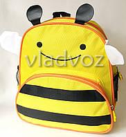 Детский рюкзак для дошкольника пчелка желтый