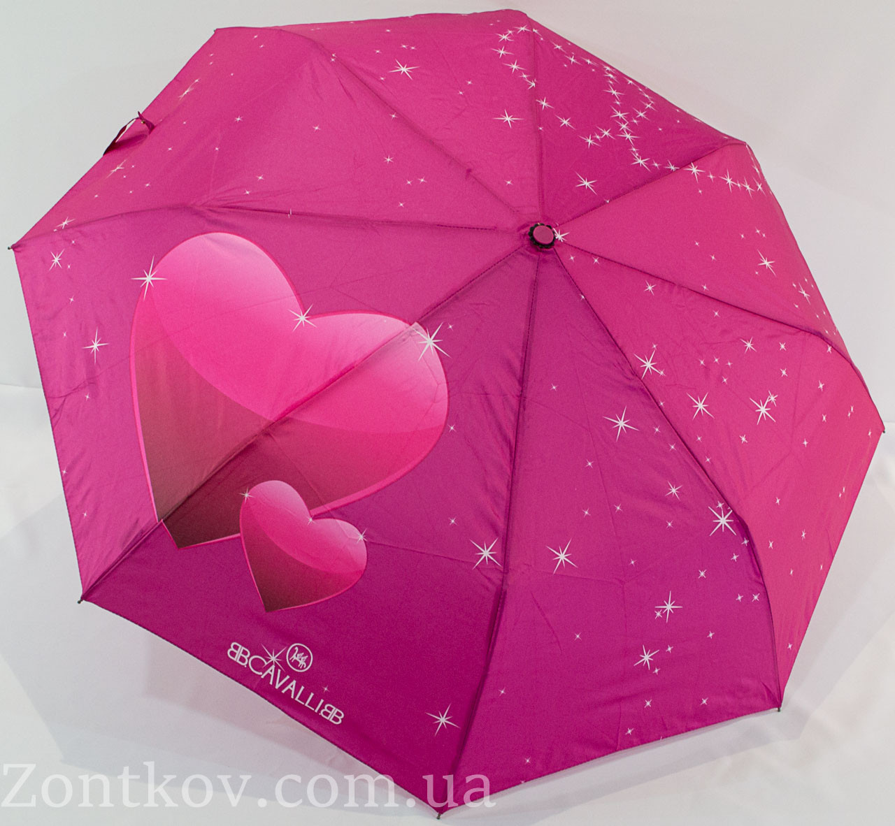 "Молодежный зонт полуавтомат ""B.Cavalli"""