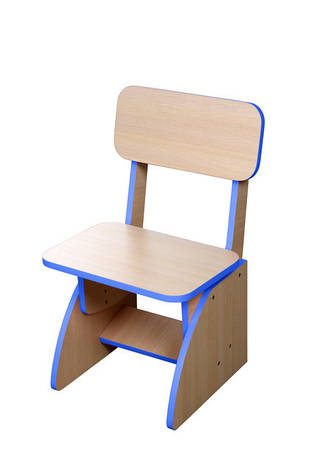Детский стульчик растущий, синий, фото 2