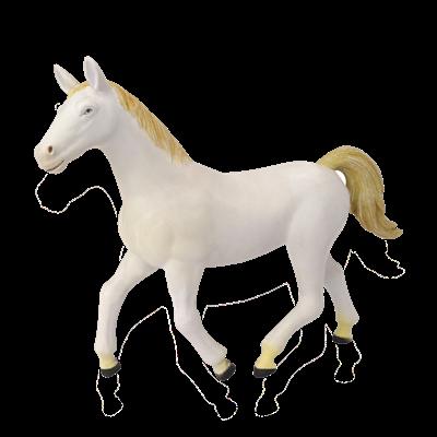 Объемный пазл Белая лошадь 4D Master (26458)