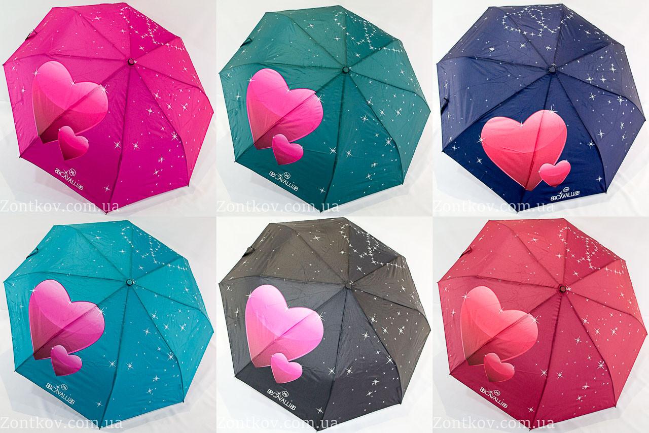 "Молодежный зонт полуавтомат оптом ""B.Cavalli"""