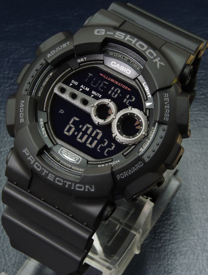 Часы Casio G-Shock GD-100-1B Б.