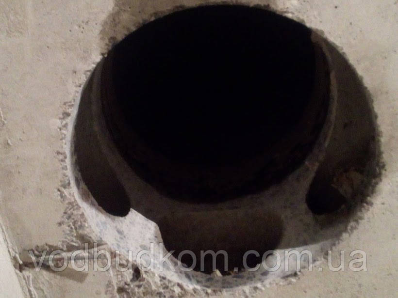 Алмазне буріння свердління отвору діаметром 302 мм Тернопіль