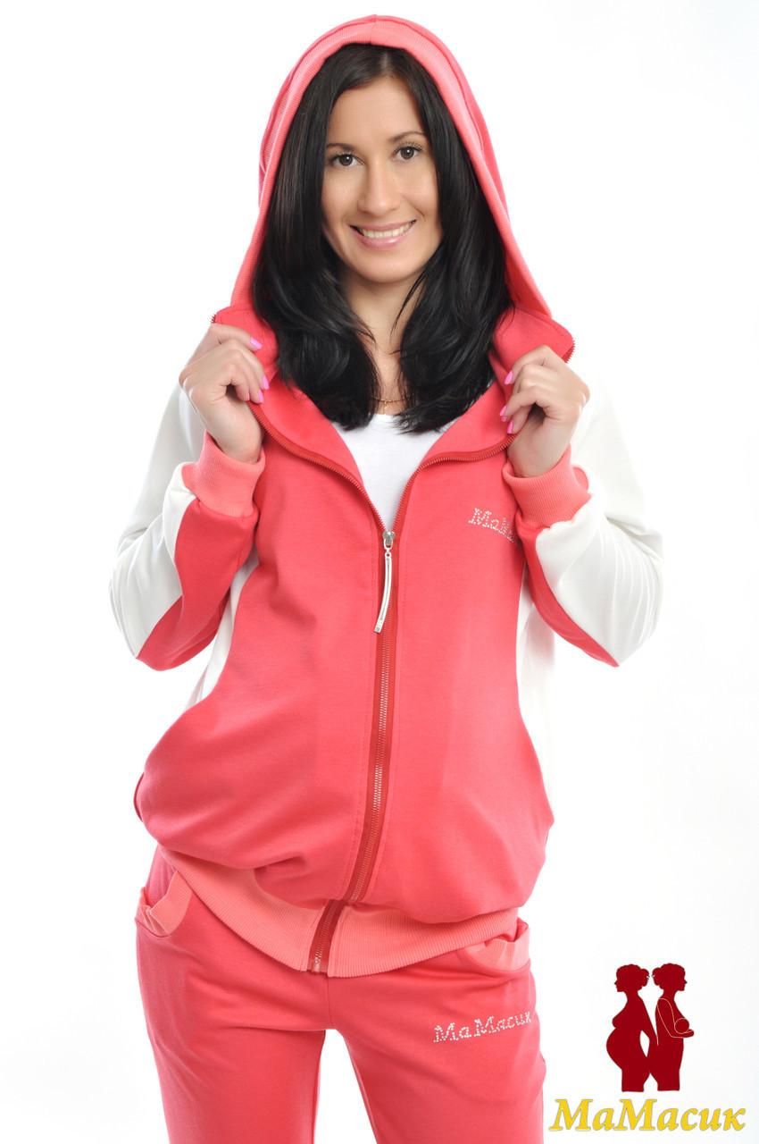 a2fe9352d743 Спортивный костюм трикотажный для будущих мам - HAPPY MAMA - одежда для  беременных и кормящих,
