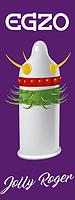 Презервативы EGZO Cocky Friend Purple Hard, фото 1