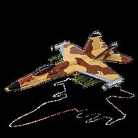 Объемный пазл Истребитель F/A-18C Desert Hornet (Шершень пустыни) 4D Master (26202)
