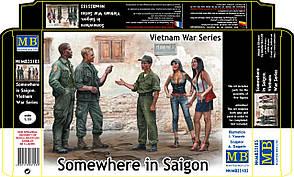 Somewhere in Saigon, Vietnam War Series. 1/35 MB35185