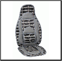 Накидка на сиденье Vitol CW-SC9122 (бамбуковая)
