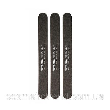 Titania Маникюрная пилка с песочным напылением двусторонняя на пластиковой основе 1031|3 (тонкие, набор 3 шт), фото 2
