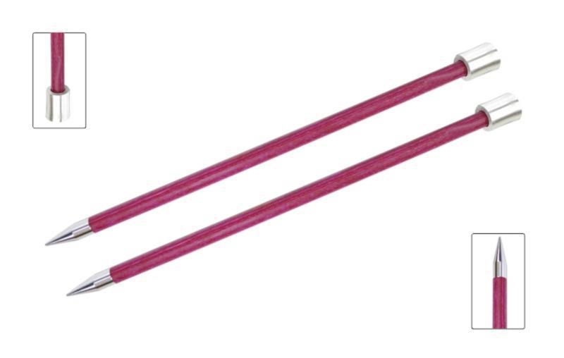 Спицы прямые 25 см Royale KnitPro, 9,00мм