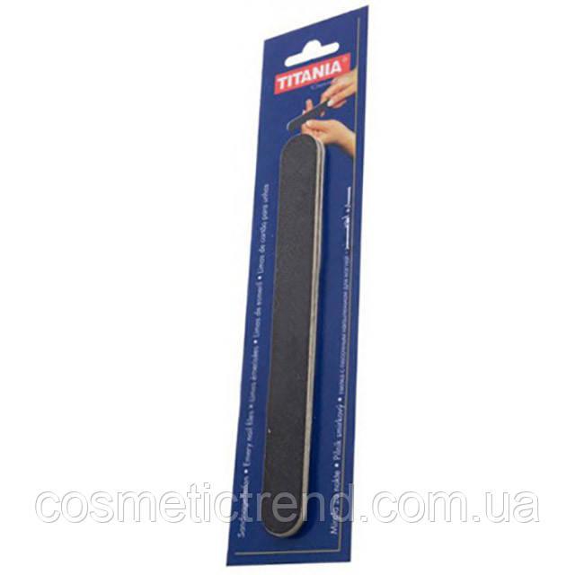 Titania Маникюрная пилка с песочным напылением двусторонняя на пластиковой основе 1031|3 (тонкие, набор 3 шт)