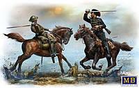 Британские и немецкие кавалеристы, период Первой мировой войны. 1/35 MB35184