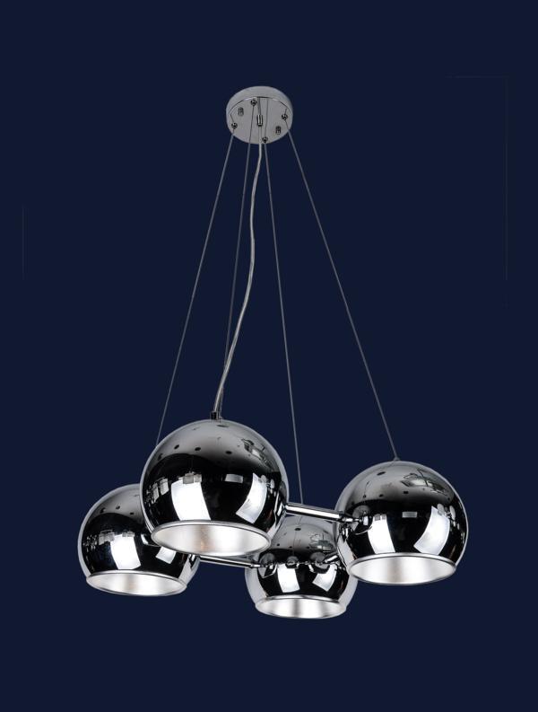 Люстра подвесная на 4 лампочки 7093331-4