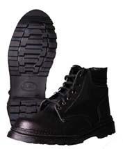 Ботинки рабочие утепленные клеепрошивные (зима)