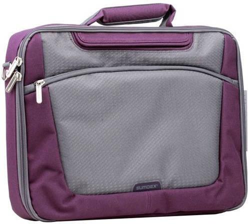 """Сумка для ноутбука от 15,4"""" доя 16"""" Sumdex Passage PON-301PL фиолетовый с серым"""
